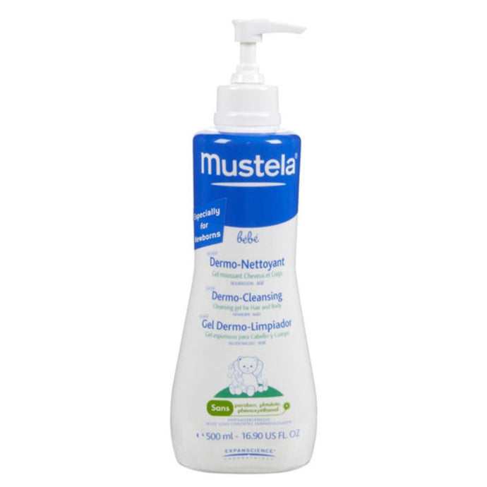 Mustela Dermo Cleansing Gel for Hair and Body - Momitall.net