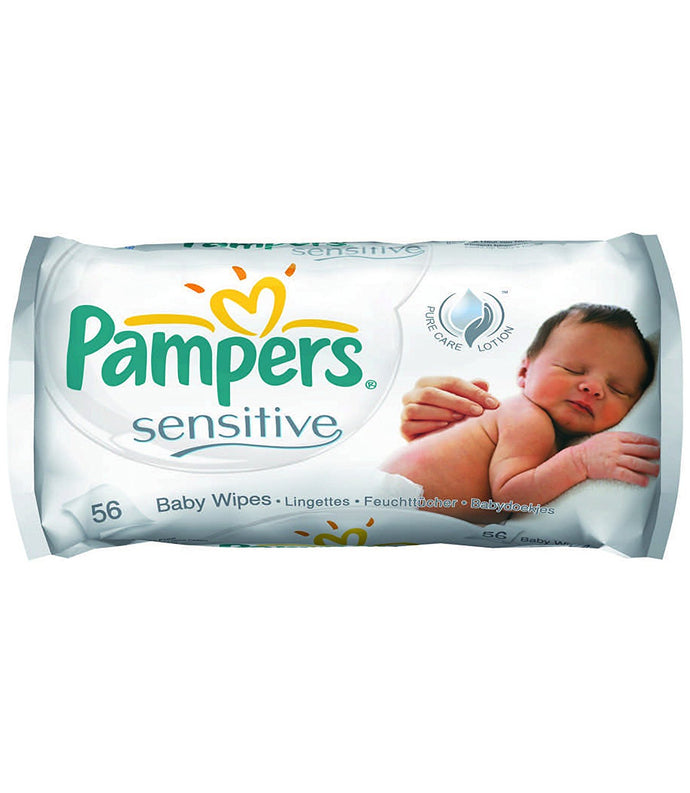 Pampers Sensitive Baby Wipes - Momitall.net