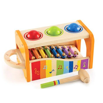 Educo Early Melodies Pound and Tap Bench - Momitall.net