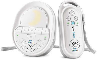 Philips Avent DECT Baby Monitor with Night Light and Lullabies