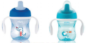 Chicco Transition Cup 4m+ 2-Pack Girl/Boy