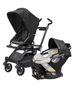 Orbit Baby G3 Stroller, Cargo Basket and Second Age Seat - Momitall.net