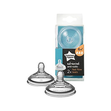 Tommee Tippee Advanced Anti-Colic Fast Flow Teats