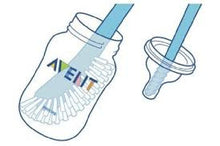 Avent Bottle and Teat Brush -Pink Blue Grey