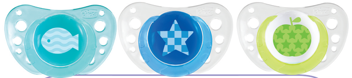 Chicco Physio Air Silicone Pacifier 6-12 m - Momitall.net
