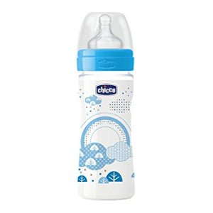 Chicco Meduim Flow Plastic Feeding Bottles - Momitall.net
