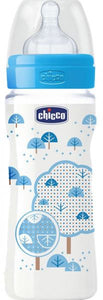Chicco Fast Flow Plastic Bottle - Momitall.net