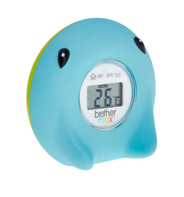 Max Brother Bath & Room Thermometer (0+)