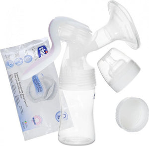 Chicco Manual Breast Pump with Bottle