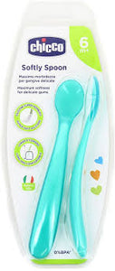 Chicco Soft Silicone Spoon (0% BPA-6m+)