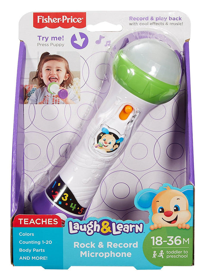 Fisher Price Laugh & Learn® Rock & Record Microphone