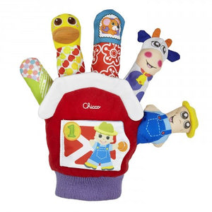 Chicco Farmyard Finger Puppet - Momitall.net