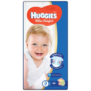 Huggies Ultra Comfort Jumbo Size Diapers 3 - Momitall.net