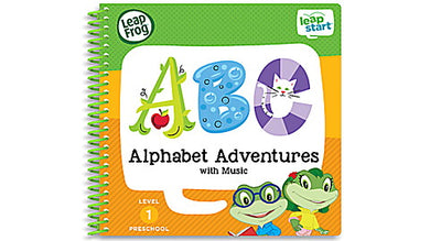 LeapStart Alphabet Adventures with Music