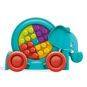 Fisher Price Mega Bloks® Building Basics Elephant Parade - 1y+ - Momitall.net