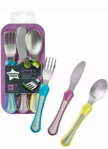 Tommee Tippee Cutlery 1st Grown Up Set 3Pk 12m+