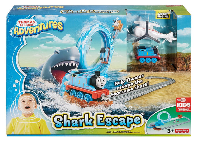 Fisher Price Thomas & Friends™ Thomas Adventures Shark Escape™ - Momitall.net