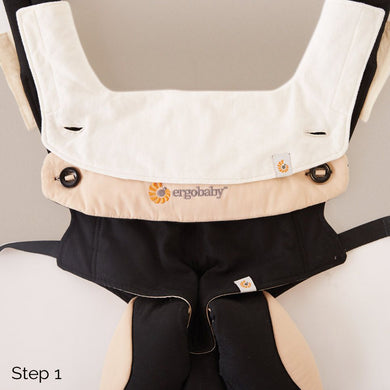 Ergo Baby 360 Carrier Drool Pad & Bib - Momitall.net