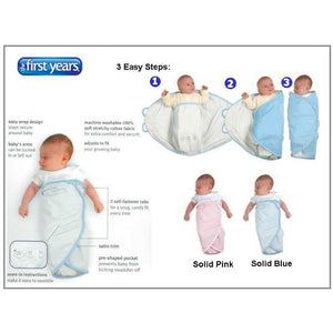 The First Years Easy Wrap Swaddler - Momitall.net