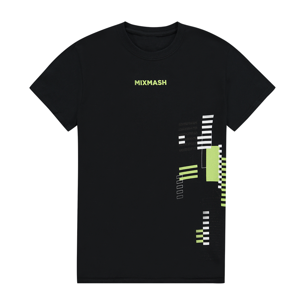 Mixmash Green Printed Tee