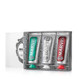 Marvis Toothpaste Travel Flavour Trio 3 x 25ml - www.elegantgents.com