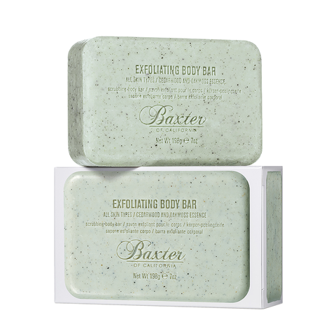 Baxter Of California Exfoliating Body Bar 7oz - www.elegantgents.com