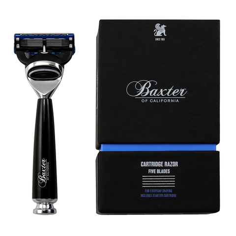 Baxter Of California Five Blade Cartridge Razor - www.elegantgents.com