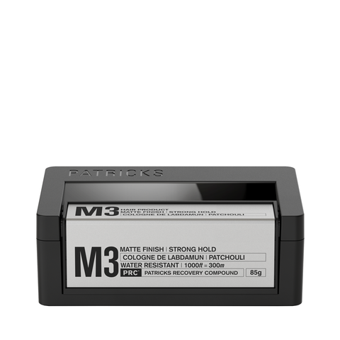 Patricks M3 Matte Finish Strong Hold Styling Product 75g