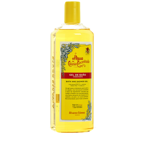 Agua De Colonia Bath & Shower Gel 500ml - www.elegantgents.com