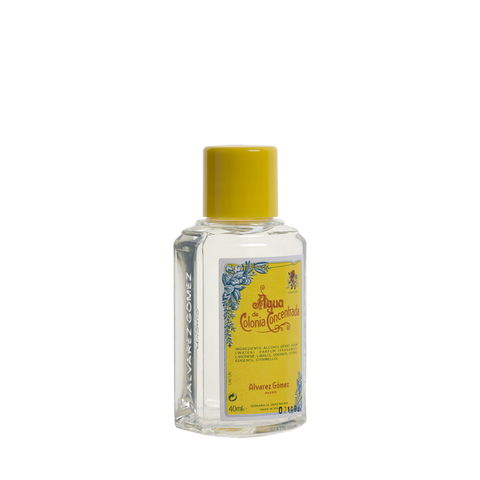 Agua De Colonia Eau De Cologne Travel Bottle 40ml - www.elegantgents.com