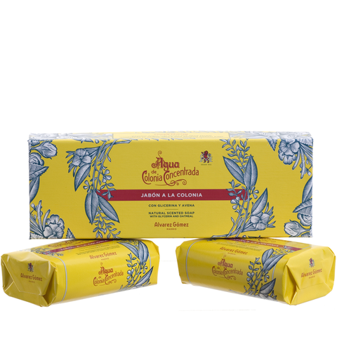Agua De Colonia Crème Soap Twin Box 2 x 125g - www.elegantgents.com