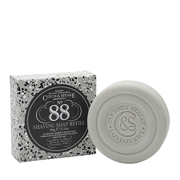 Czech & Speake No.88 Shaving Soap Refill 90g - www.elegantgents.com