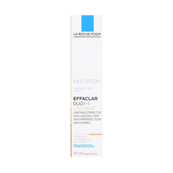 La Roche-Posay Effaclar Duo[+] Unifiant Medium 40ml - www.elegantgents.com