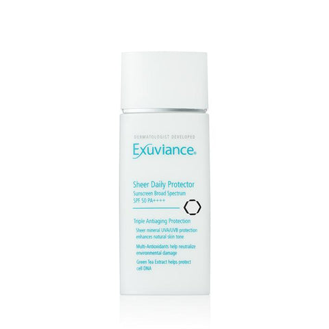 Exuviance Sheer Daily Protector SPF50 50ml - Arden Skincare Ltd.
