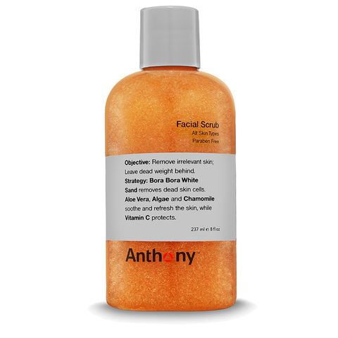 Anthony Facial Scrub 237ml - www.elegantgents.com