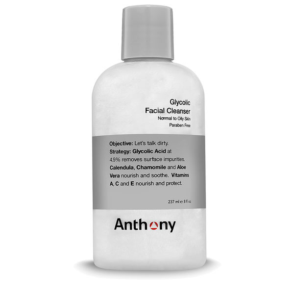 Anthony Glycolic Facial Cleanser 237ml - www.elegantgents.com