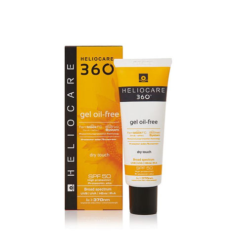 Heliocare 360° Oil Free Gel SPF50 50ml - www.elegantgents.com