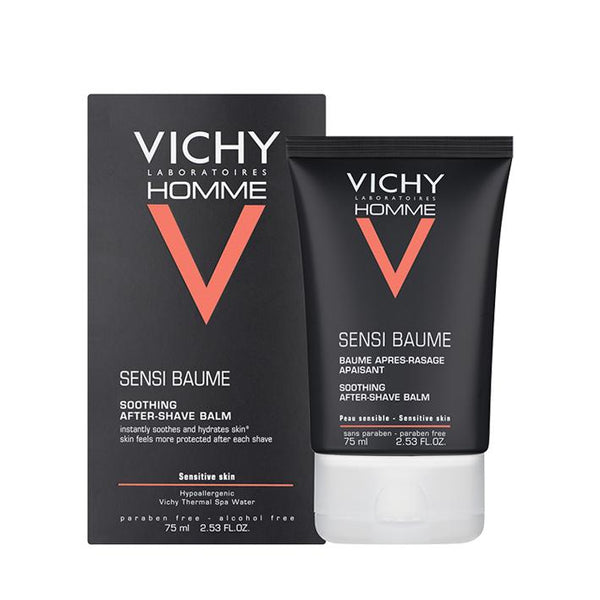 Vichy Homme Sensi After-Shave Balm 75ml - www.elegantgents.com