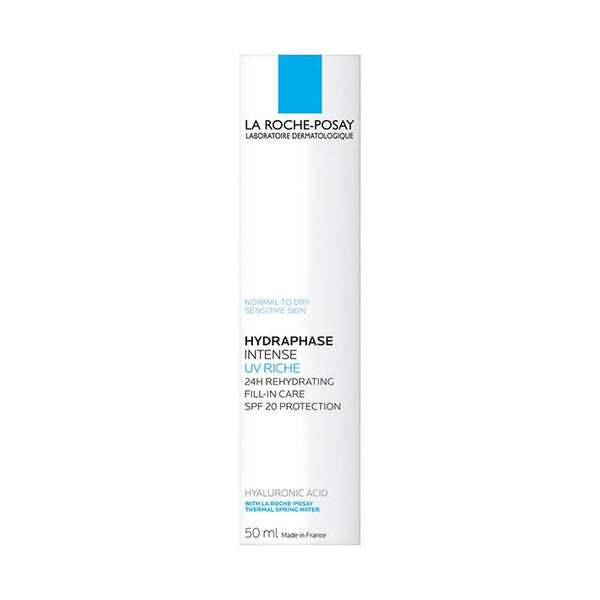 La Roche-Posay Hydraphase Intense UV Riche 50ml - www.elegantgents.com