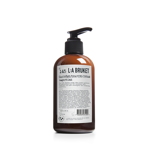 L:A Bruket Shaving Cream 200ml - www.elegantgents.com
