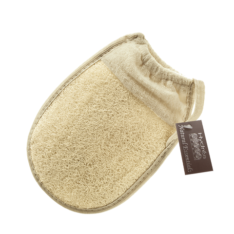Hydrea London Organic Egyptian Loofah Bath Mitt - www.elegantgents.com