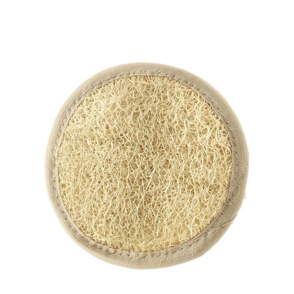 Hydrea London Organic Egyptian Loofah Facial Pad - www.elegantgents.com