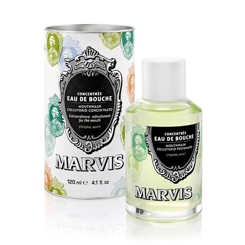 Marvis Concentrated Eau De Bouche Mouthwash 120ml - www.elegantgents.com