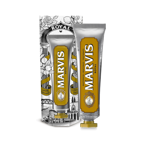Marvis Wonders Of The World Royal Toothpaste 75ml - www.elegantgents.com
