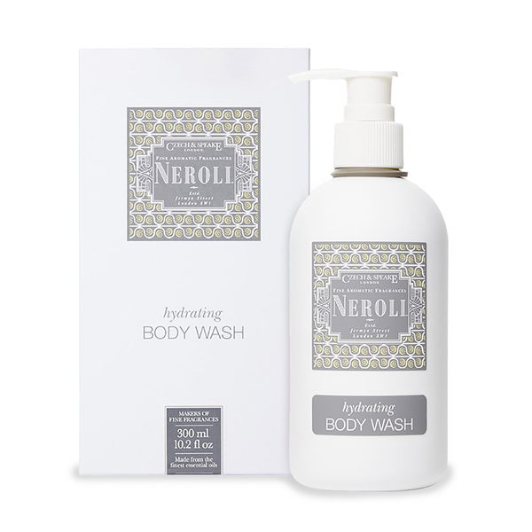Czech & Speake Neroli Hydrating Body Wash 300ml - www.elegantgents.com