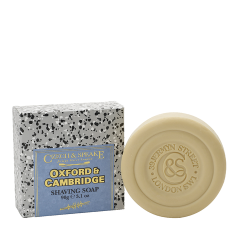 Czech & Speake Oxford & Cambridge Shaving Soap Refill 90g - www.elegantgents.com