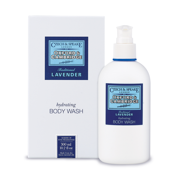 Czech & Speake Oxford & Cambridge Hydrating Body Wash 300ml - www.elegantgents.com