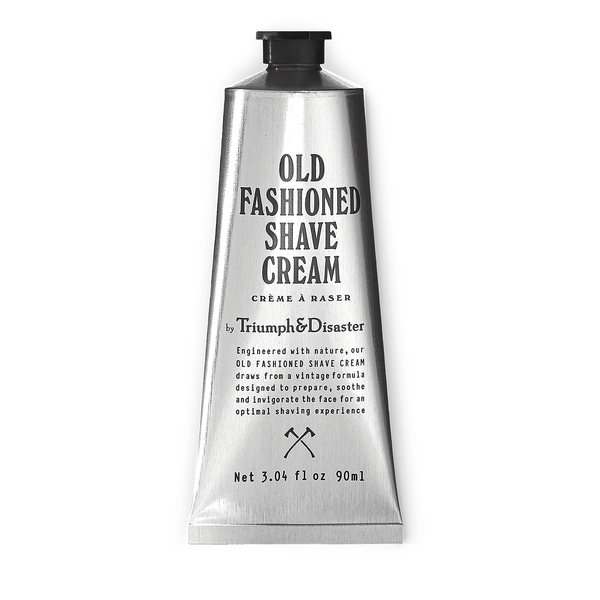 Triumph & Disaster Old Fashioned Shave Cream 90ml Metal Tube - www.elegantgents.com