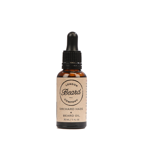 London Beard Company Premium Beard Oil (Orchard Haze) 30ml - www.elegantgents.com