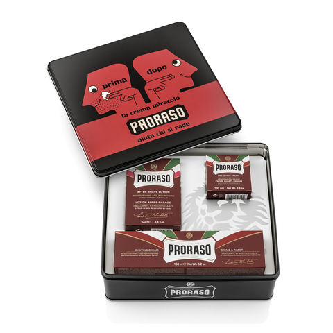 Proraso Vintage Selection Tin Nourishing - www.elegantgents.com